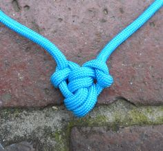 Using a single piece of less than 3 ft of paracord you can make a heart shaped pendat necklace for Valentines day.