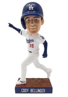 Dodgers Girl, Dodgers Baseball, Cody Bellinger, Dodger Blue, Mlb Players, Los Angeles Dodgers, World Series, Bobble Head, Handmade Crafts