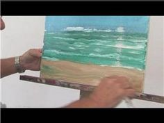 Acrylic Painting Techniques : How to Paint a Canvas Picture