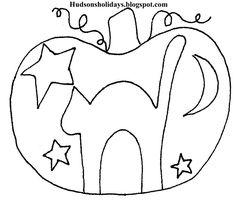 Hudson's Holidays - Shirley Hudson: Halloween Scaredy cat- free pattern