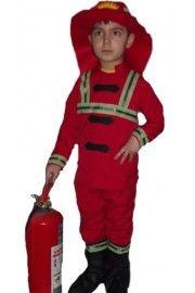 İtfaiyeci Kostümü Çocuk