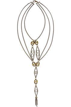 Gucci Gold-plated brass Marina link necklace NET-A-PORTER.COM