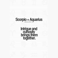 Aquarius and Scorpio- Love relationship compatibility Zodiac