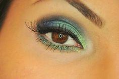 Makeup - #eyeshadow #greenshadow #greenglitter #nataliauliasz - bellashoot.com & bellashoot iPhone & iPad app