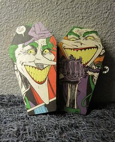 Joker Comic Coffin Joker Comic, Coffin, Handmade Items, Comics, Etsy, Products, Cartoons, Comic, Comics And Cartoons