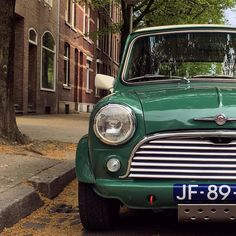 """MINI (@mini) on Instagram: """"Staying #classic in the streets of #Maastricht, captured by @timommers. #MINI #ClassicMini #MINIfan"""""""