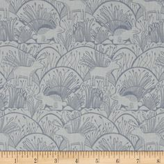Dear Stella Wildwood Woodland Etching Grey from @fabricdotcom  Designed for Dear Stella Designs, this cotton fabric is perfect for quilting, apparel and home decor accents.Colors include two shades of gray.