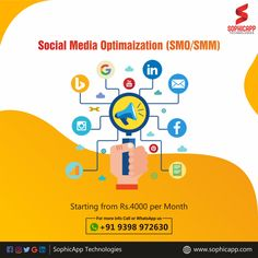 We offer affordable SMO /SMM Services that help you to build strong online business identity. Starting from RS:4000/Month For more Information WhatsApp us @ +91 93 98 97 26 30 www.sophicapp.com #digitalmarketingcompany #bestdigitalmarketingagency #BesDigitalMarketingAgencyinhyderabad #DigitalMarketingCompanyHyderabad #digitalmarketingservices #topdigitalmarketingservices #BestDigitalMarketingServicesinHyderabad Application Development, Mobile Application, Software Development, Digital Marketing Services, Sales And Marketing, Social Media Marketing, Latest Updates, Online Business, Twitter