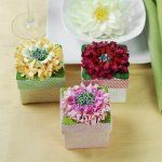 Find unique party favor boxes, wedding favor boxes, and a wide variety of other favor boxes for all occasions. Save big on your favor boxes with great deals on our site. Personalized Labels, Customized Gifts, Unique Party Favors, Wedding Favor Boxes, Wedding Ideas, Gerber Daisies, Daisy, Decorative Boxes, Bloom