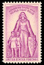 1957 3c March of Dimes Scott 1087 Mint F/VF NH  www.saratogatrading.com