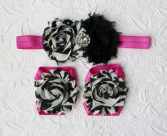 Hey, I found this really awesome Etsy listing at https://www.etsy.com/listing/158901540/zebra-pink-baby-barefoot-sandals-and