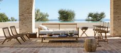 The terrace furniture to prepare for the summer perfectly - Decoration Solutions Luxury Garden Furniture, Outdoor Furniture Design, Clean Patio, Terrasse Design, Design Jardin, Furniture Care, Outdoor Chairs, Outdoor Decor, Outdoor Living