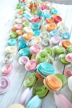 Wedding garland upcycled paper flower garland wedding decorations 10 gorgeous garlands for your wedding day mightylinksfo