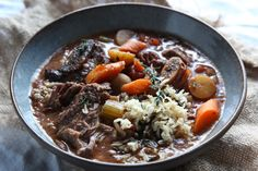 Slow-Cooker Short Rib Stew