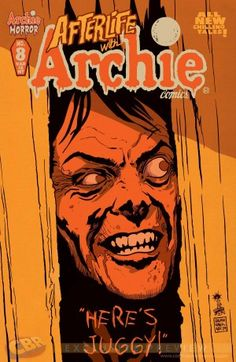 """EXCLUSIVE: Francesco Francavilla's """"Afterlife with Archie"""" #8 and """"Sabrina"""" #2 Variants - Comic Book Resources"""