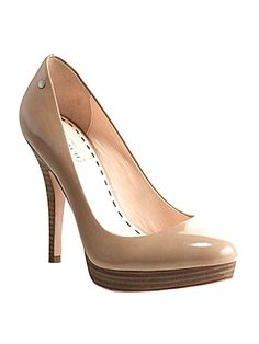 "Heel might be a bit high for me but love the style - very ""Kate Middleton""!"