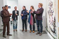 artist, 3rd from left: wolfgang ganter