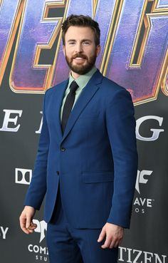 LOS ANGELES, CA - APRIL Chris Evans attends the world premiere of Walt Disney Studios Motion Pictures 'Avengers: Endgame' at the Los Angeles Convention Center on April 2019 in Los Angeles, California. (Photo by Jon Kopaloff/Getty Images) Christopher Evans, Capitan America Chris Evans, Chris Evans Captain America, Capt America, Peggy Carter, Hollywood Couples, Hollywood Actor, Steve Rogers, Downey Jr