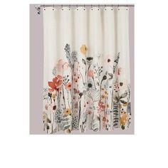 Shower Curtain Floral Wave - Threshold™ : Target