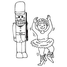 Nutcracker Coloring Pages Picture 1 See More The Is Main Character From Popular Story And Mouse