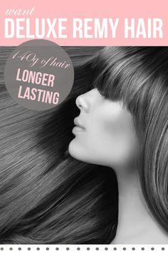 """20"""" Deluxe Clip-In Remy Hair Extensions 140g 