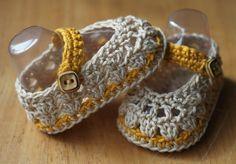 era Crochet Brio: Spring Newborn Crochet Baby Ballerina