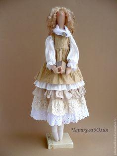 Бохо.Сентябрь.Внеклассное чтение. Лолита - бежевый,тильда кукла,бохо,бохо-стиль