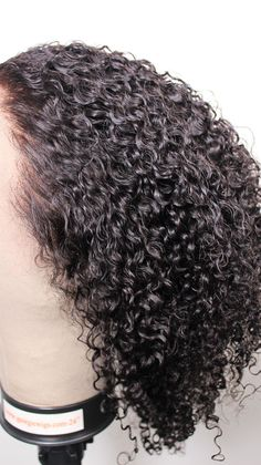 "Image of ""Don't Touch My Hair"" Coily, Curly Dreams Lace frontal Wig"
