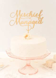 Harry Potter wedding cake topper by Better Off Wed www.betteroffwed.co