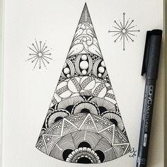 #ゼンタングル #zentangle #zendoodle #doodle #tangle #zenart #pen