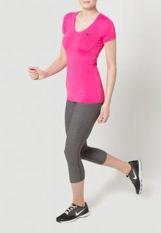 Nike Performance - PRO - T-shirt de sport - vivid pink/black