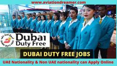 Hello everyone here you can find out Dubai airport Jobs. Dubai duty free staff hiring details inside this pin. So if you are interested to apply for dubai airport job please visit the official site.
