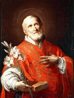 St. Philip Neri.  Feast Day May 26.  He was known for his sense of humor and his heart bursting with love for others. Here is a quote from the Saint of the Day from AmericanCatholic.org : Many people wrongly feel that such an attractive...