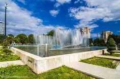 Image and Sound Expert: Fantana arteziana gara / fountain station / brunne. Romania, Fountain, Urban, Mansions, House Styles, Outdoor Decor, Image, Home Decor, Decoration Home