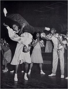 The Savoy Ballroom, Harlem, New York Photo by Cornell Capa