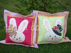 Bunny pillows