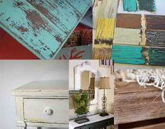 Antique Wood Techniques: 10 wonderful ways to make wooden furniture look old | My desired home