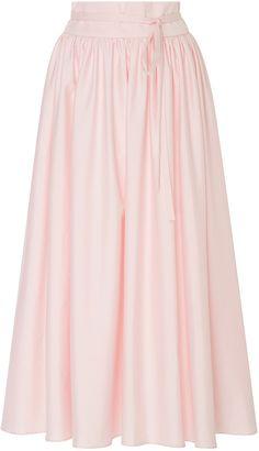 MDS Stripes High Waist Pleated Skirt {affiliate link}