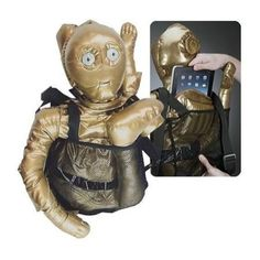 Mochila C-3PO Star Wars - Loja Mundo Geek - Cultura Pop com Estilo