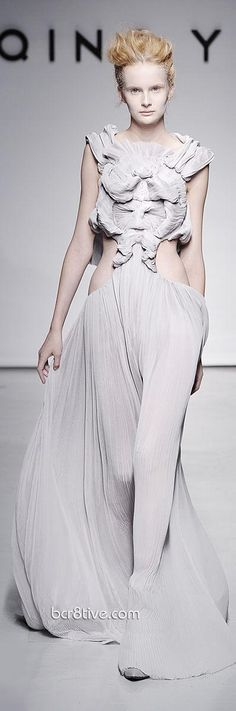 Yiqing Yin – Fall Winter 2011 Debut Paris Fashion Week