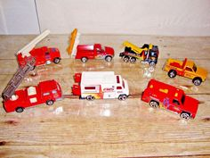 7- Hot Wheels And Matchbox Die Cast Rescue Emergency Vehicles #HotWheels