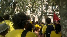 Arribem al Parlament de Catalunya.No comencem.12/9/2012 Hats, Hat, Hipster Hat