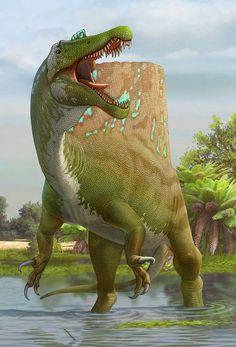 Spinosaurus by Sergey Krasovskiy