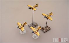 Thunderbolts Squadron : Those fighters bombers are played with my Death Korps Of Krieg Army