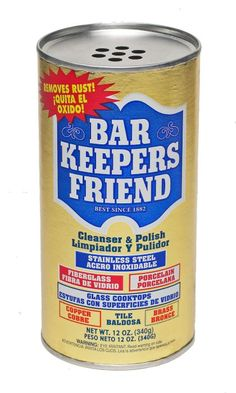 Bar Keepers Friend Multipurpose Household Cleanser And