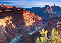 Sunrise seen from the bottom of the Grand Canyon last week was truly a glimpse of God's grandeur