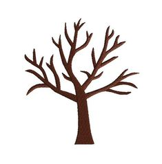 Fall Crafts, Diy And Crafts, Crafts For Kids, Stick Figure Drawing, Tree Stencil, Crafts For Seniors, Winter Trees, Cardboard Crafts, Stick Figures