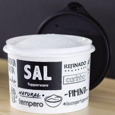 Tupperware Caixa Sal PB 1kg