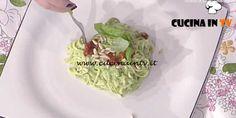 Prova del Cuoco   Spaghetti alla chitarra con pesto di broccoli ricetta Romani