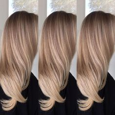 Image result for blonde balayage long straight hair